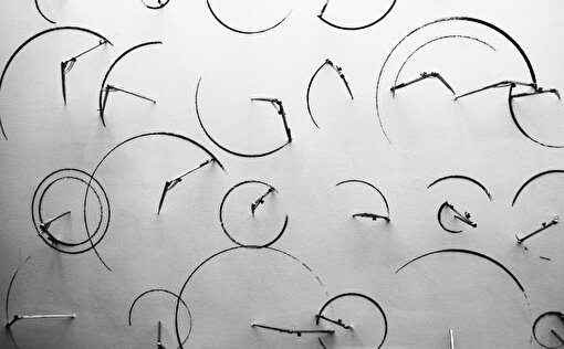 """Circles, From the series of """"Nature of Order"""" 2013"""